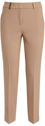Peserico Slim Cropped Ankle Trousers