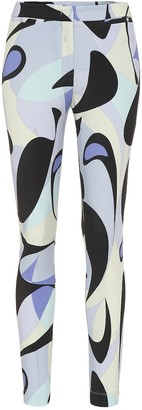 Emilio Pucci Printed straight pants