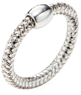 Roberto Coin Primavera 18K White Gold Flexible Band Ring
