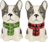 Boston Warehouse Mercantile Dog Salt & Pepper Shakers