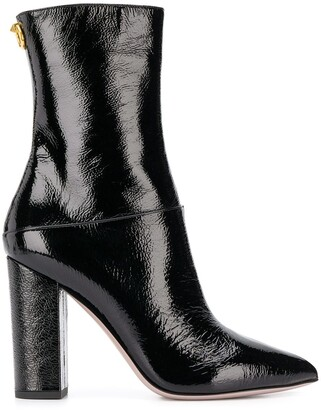 Valentino 110mm Ankle Boots