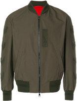 Neil Barrett chevron bomber jacket