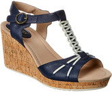 Sperry Dawn Leather Wedge Sandal