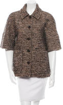 RED Valentino Wool Woven Coat