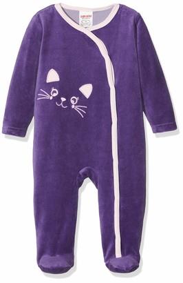 Schnizler Baby Girls' Schlafoverall Nicki Katze Sleepsuit