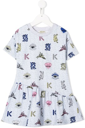 Kenzo Oriental icons dress