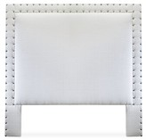 Uniquely Furnished Charlize Upholstered Panel Headboard Uniquely Furnished Size: King, Body Fabric: Bella Black
