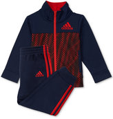 adidas 2-Pc. Helix Vibe Jacket and Pants Set, Baby Boys (0-24 months)