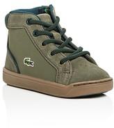 Lacoste Boys' Explorateur Mid Top Sneakers - Walker, Toddler