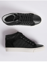 Marks and Spencer Kids' Leather Fashion Trainers