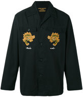 MHI embroidered jacket - men - Organic Cotton - L