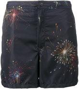 Valentino fireworks print swim short - men - Polyamide/Polyester - 44