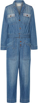 Current/Elliott The Whitney denim jumpsuit