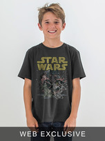 Junk Food Clothing Kids Boys Star Wars Tee-black Wash-l
