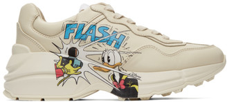 Gucci Off-White Disney Edition Donald Duck Rhyton Sneakers
