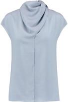 Nina Ricci Draped wool top