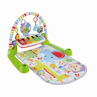 Fisher-Price Deluxe Kick and Play Piano Gym Sensory and Motor Development Toy