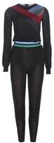 Stella McCartney Wool and silk jumpsuit