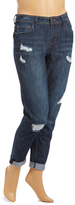 Dollhouse Beckham Distress Boyfriend Jeans - Plus