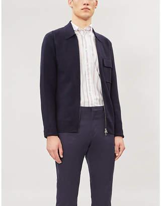 Eton Contemporary-fit striped cotton shirt