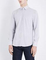 Canali Regular-fit cotton-piqué shirt