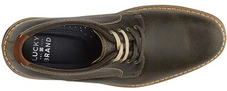 Lucky Brand Bowden (Red Brown) Men's Shoes