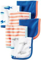 Carter's 6 Pack Wash Cloth (Baby) - Shark