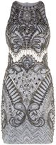 Jovani Embellished Mesh Bodycon Dress