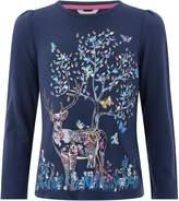 Monsoon Girls Daphne Deer T-Shirt