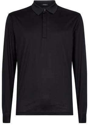 BOSS Long-Sleeved Polo Shirt