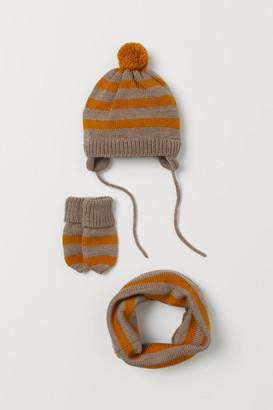 H&M 3-Piece Fine-Knit Set