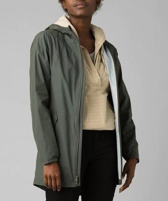 Prana Women's Non-Denim Casual Jackets Rye - Rye Green Southbounder Jacket - Women