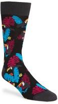 Bugatchi Men's Leaf Socks