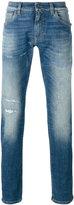 Dolce & Gabbana distressed front jeans - men - Cotton/Spandex/Elastane - 54