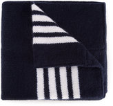 Thom Browne Kids striped blanket