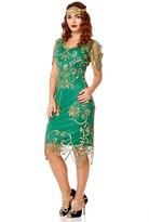 gatsbylady london Rosemary Vintage Inspired Flapper Dress