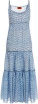 Missoni Large Zz Print Maxi Dress