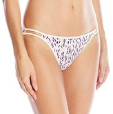 Vanity Fair Women's Body Shine Illumination String Bikini Panty