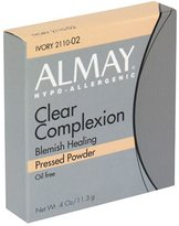 Almay Clear Complexion Pressed Powder, Ivory - .4 oz by