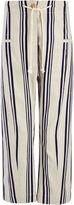 Linen Stripe Ombria Trouser