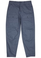 Acne Studios Pat Blue Cotton Twill Trousers