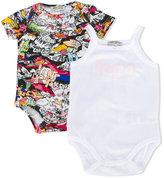 Kenzo printed body set - kids - Cotton - 3 mth