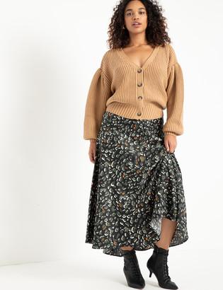 ELOQUII Flowy Maxi Skirt