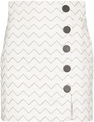 Skiim Sienna wave pattern mini skirt