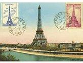 Cavallini Decorative Wrap 20X28 Eiffel Tower 2