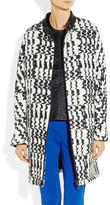 Vanessa Bruno Textured-pattern knitted coat