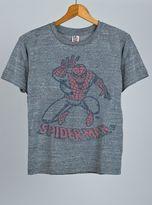 Junk Food Clothing Kids Boys Spiderman Tee-steel-l