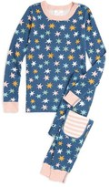 Hanna Andersson Organic Cotton Fitted Two-Piece Pajamas (Baby Girls, Toddler Girls, Little Girls & Big Girls)