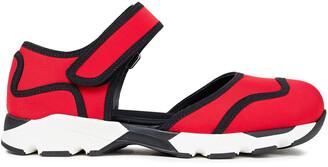 Marni Cutout Neoprene Sneakers
