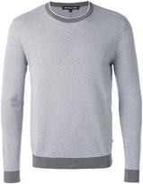 Michael Kors crew neck jumper - men - Cotton - L
